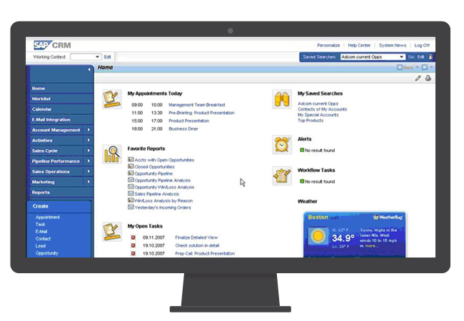 sap testing solution screen