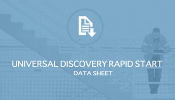Universal Discovery Rapid Start