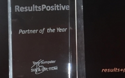 ResultsPositive Recognized as HPE SPM Partner of the Year 2015